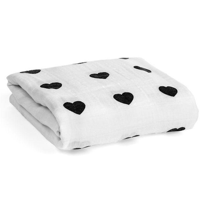 심장 아기 담요 Cama 침구 커버 모슬린 단단히 싸는 아기 cobertor Bebes 아이스크림 담요 만타 비비 담요 kocyk dla dziecka
