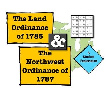 The Land Ordinance, Northwest Ordinance, the NW Territory, and the Common Core!