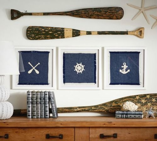 Decorative Oar Paddles, Ready to Hang on your Wall: http://www.completely-coastal.com/2016/03/decorative-oars.html