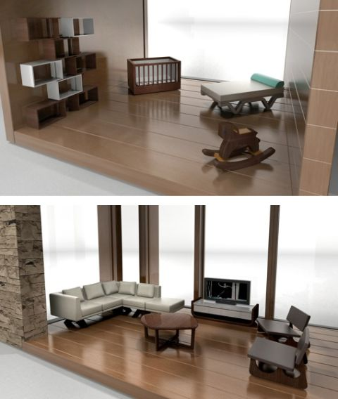 modern dollhouse furniture for your modern dollhouse strange but true