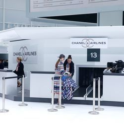 Chanel Created the World's Most Luxurious Airport Terminal for Its Spring Show - Racked