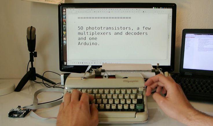 Transforma tu vieja máquina de escribir en un teclado inalámbrico gracias a Arduino - https://www.hwlibre.com/transforma-vieja-maquina-escribir-teclado-inalambrico-gracias-arduino/