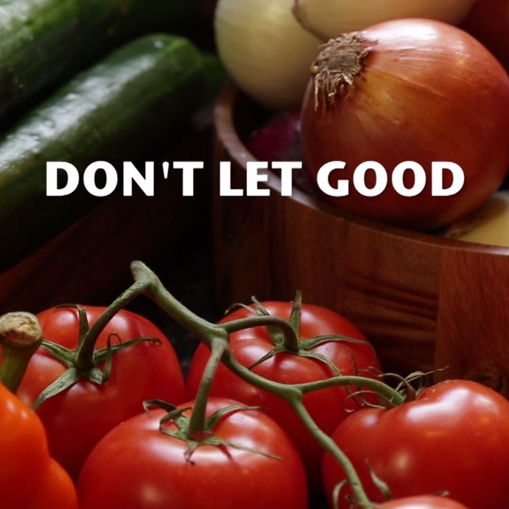 The Right Way to Store Your Produce