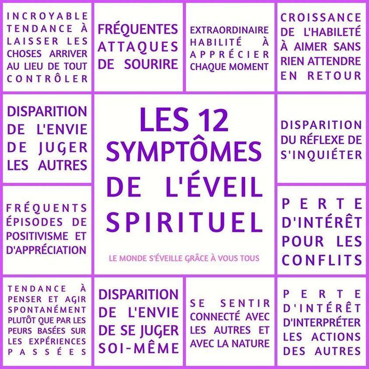Les 12 symptômes de l'éveil spirituel