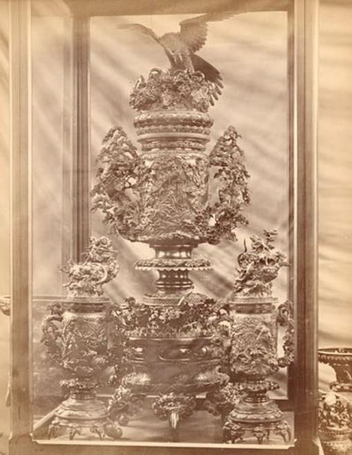 Kosho Kuwaisha. Important brûle-parfum. Japon, Epoque Meiji.