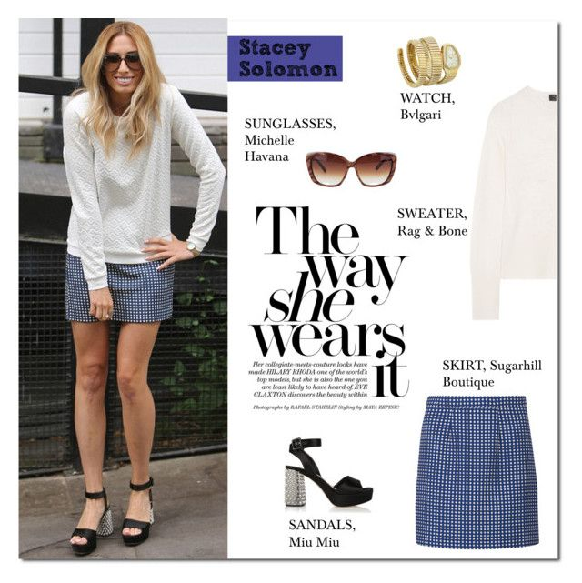 """""""Easy Chic: Stacey Solomon"""" by putricp ❤ liked on Polyvore"""