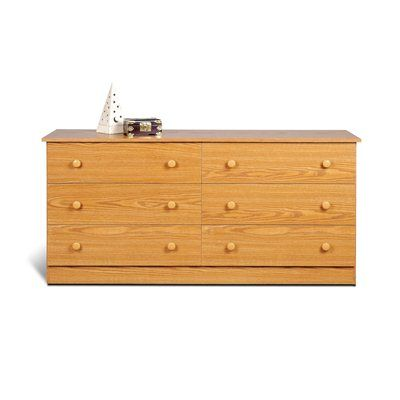 Prepac Furniture Edenvale Six Drawer Dresser
