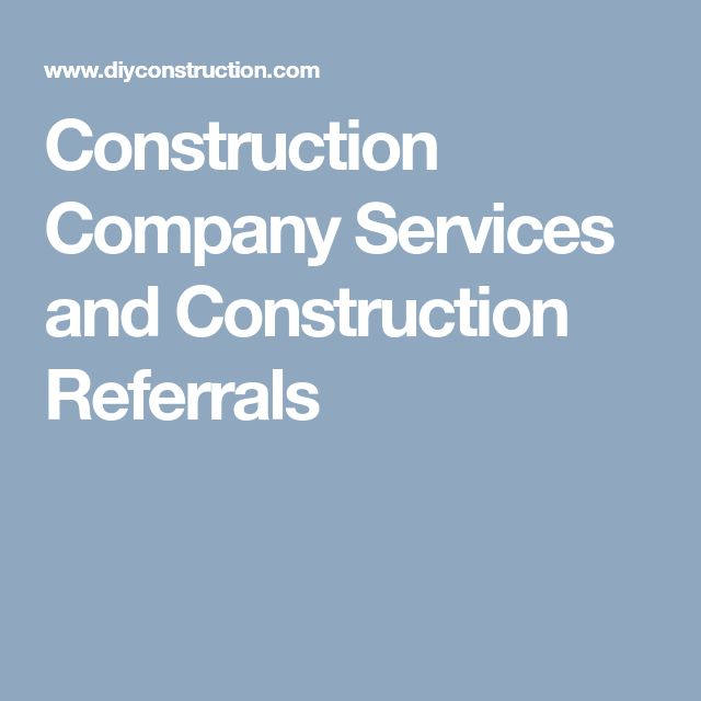 DIY Construction provides a wide variety of #construction #services including project #management, #renovation, #remodeling, and #restoration project.