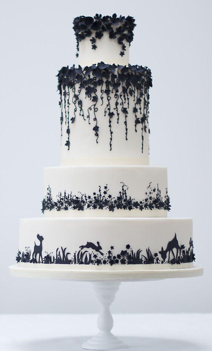 Enchanted Forrest Wedding Cake Rosalind Miller Cakes