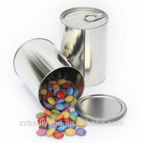 Лучшая цена 400 мл круглые конфеты жестяные банки для консервирования