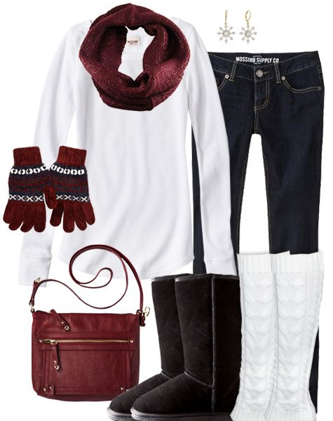 Simple u0026 Cute Winter Outfit | Hail State! | Pinterest | Triplets Snow and Christmas gifts