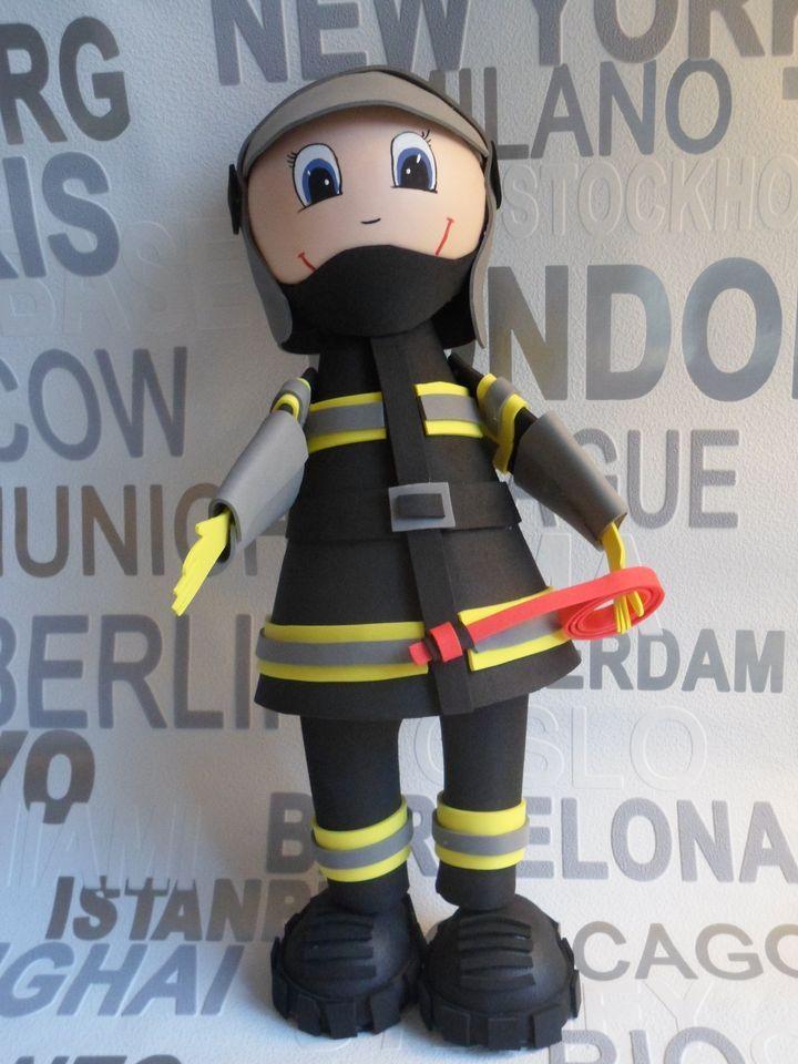 DIY Tutoriel FOFUCHAS pompier / fireman