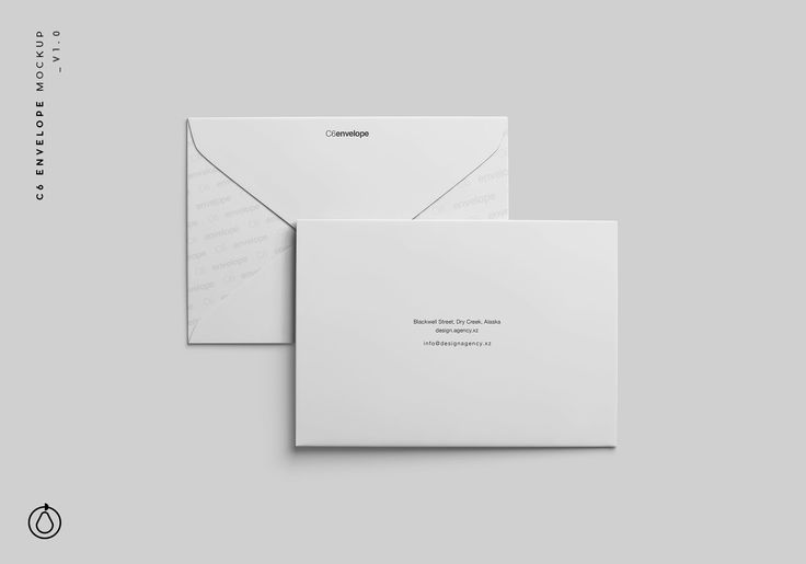 C6 Envelope Mockup Psd Mockup Mockup Envelope Mockup Free Psd