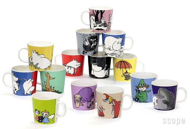 arabia moomin mug