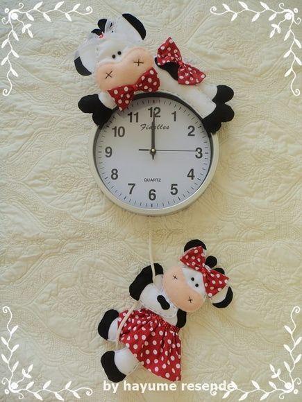 Relógio de cozinha Vaca
