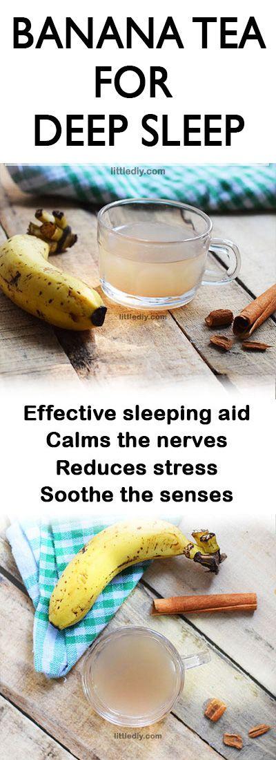 banana tea for deep sleep #remedy #sleep #tea