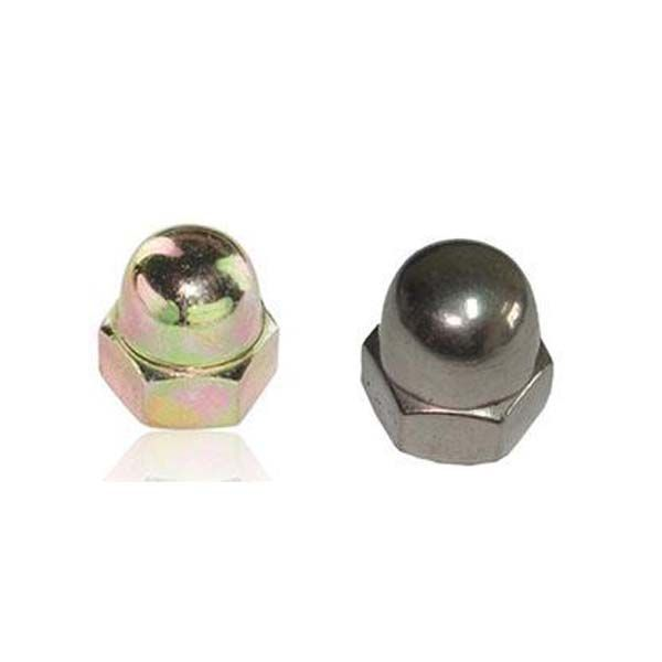 Acorn Nuts Also Known As Cap Nuts Feature A Domed Fastener Head Which Protects Screws And Bolts From Stripping Allowi Screws And Bolts Plating Cap