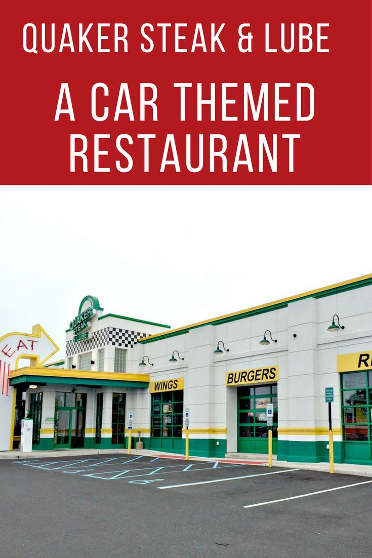Quaker Steak & Lube: A Car Themed Restaurant With Great Food via @dianenassy