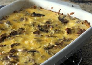 Cheesy Country Breakfast Bake with Sausage and Hash Browns: Breakfast Casserole With Potatoes and Sausage