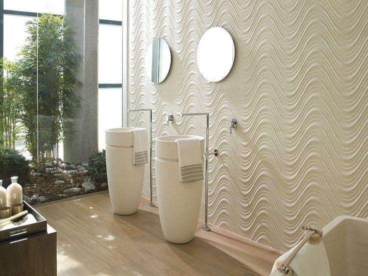 Carrelage mural salle de bains tendances dans le design for Peinture carrelage mural salle de bains