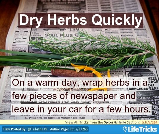 Food Network Kitchen Hacks: 18 Best Images About Herbs And Spices- Hacks, Tricks, And