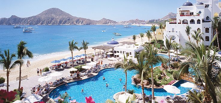 Toronto to Los Cabos — Pueblo Bonito Los Cabos All Suite (5 Start) $1345+ taxes $392 Experience the charm of Pueblo Bonito Los Cabos All Suite with its Mediterranean architecture, gracious service and glorious views of El Arco and the Sea of Cortez. Play in the pool, lounge on the beach or take a short stroll to downtown Cabo San Lucas for shopping and lively entertainment.