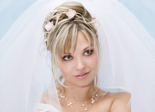 Игры свадебные прически и платье
