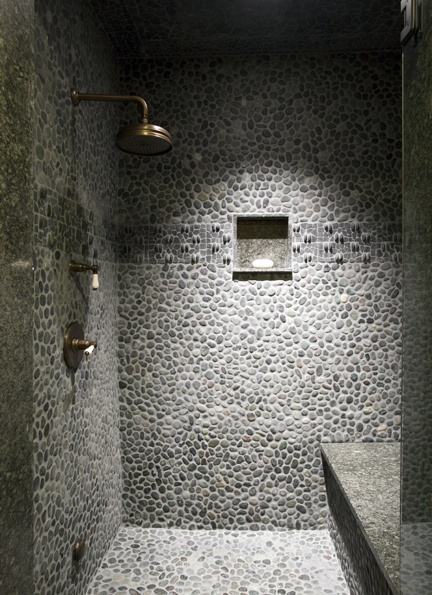 Shower/Bathroom Catalano Architects Inc. Photo by Ed Tarca