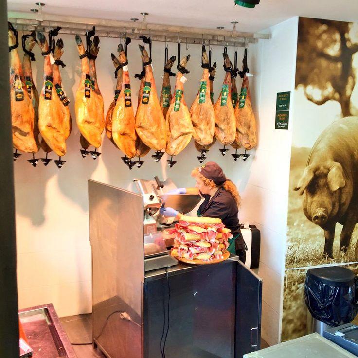 A slice of #Spain ~ #JamonSerrano   #Salamanca #Foodies #VikingSocial #spon  #ttot https://instagram.com/p/8f0CuXzNjQ/