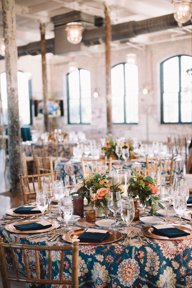 La Tavola Fine Linen Rental: Clifton Hall Gem | Photography: Jennings King, Florals: SYG Designs, Stationery & Calligraphy: Studio R, Venue: The Cedar Room, Rentals: Snyder Events