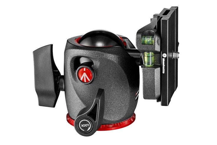 #Manfrotto XPRO Ball #Head in magnesium with Top Lock