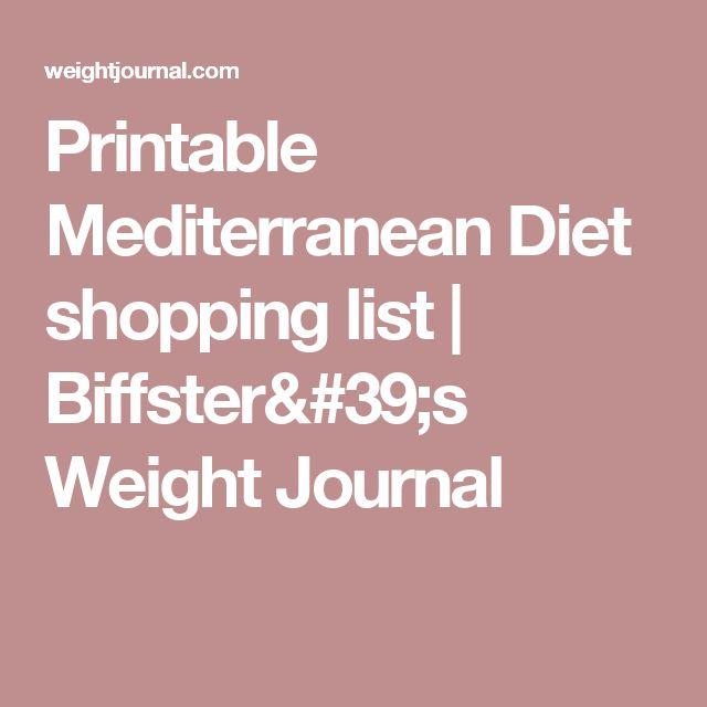 The  Best Mediterranean Diet Shopping List Ideas On