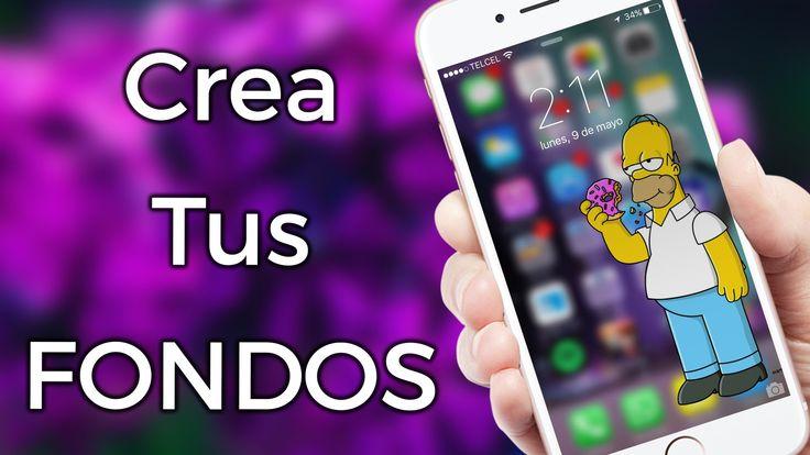 Crea Tus FONDOS De Pantalla   iOS & Android App   ZIDACO - YouTube