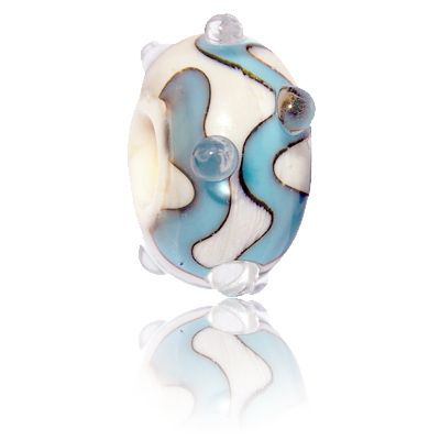 Saunton Sands Nalu Bead inspired by long flat sands, gentle rolling waves and sandy dunes... http://www.nalubeads.com/uk-series/devon-breaks/saunton