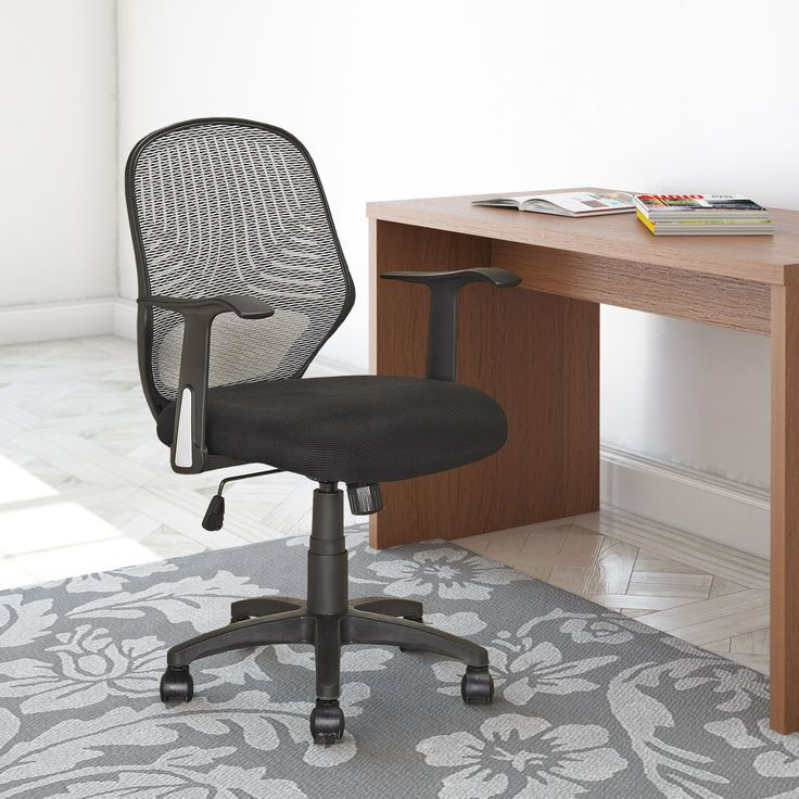 CorLiving™ LOF-209-O Office Chair - Black #back2campus #searsback2campus