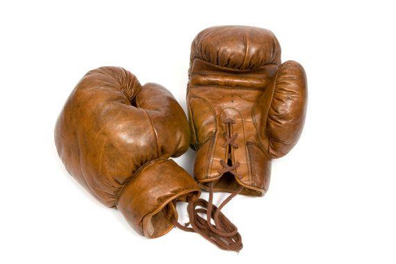 Gants de boxe par JohnWoodbridgeMakers sur Etsy