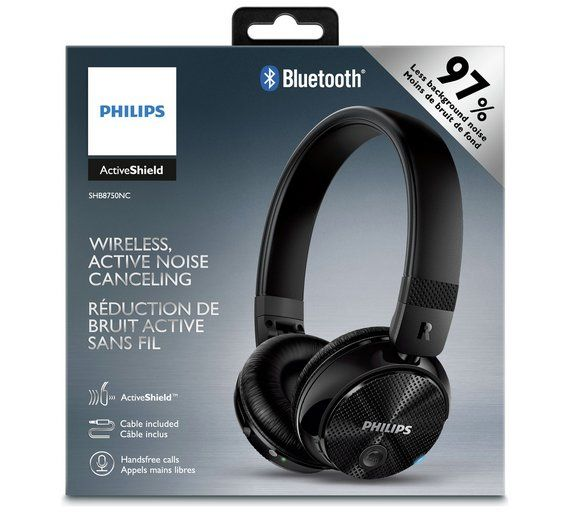 Philips noise cancelling Bluetooth headphones