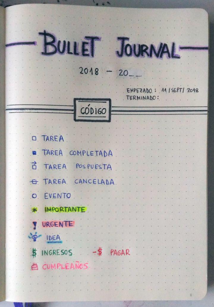 Bullet Journal – Intento de Zero Bullet Journal School, Bullet Journal 2018, Bullet Journal Banner, Bullet Journal Notes, Bullet Journal Aesthetic, Bullet Journal Ideas Pages, Bullet Journal Inspiration, Book Journal, Study Planner