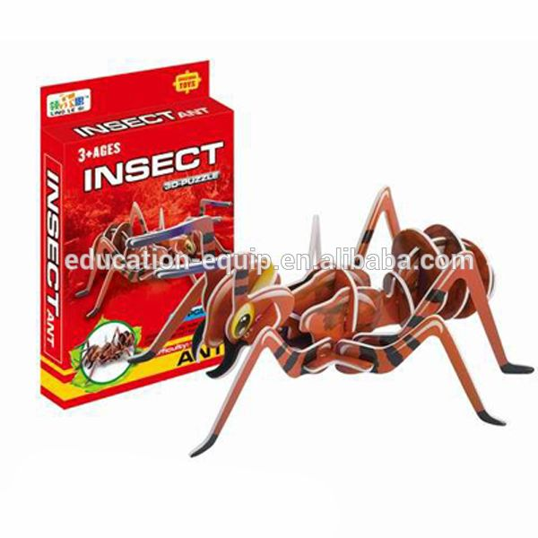 SE91176 Ant Type 3D Educational Puzzle Game
