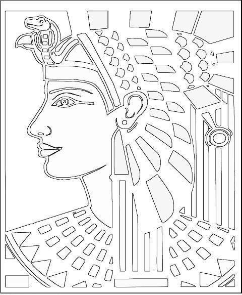 Egyptian Ceramic Tile Art from Mr. Rees blog