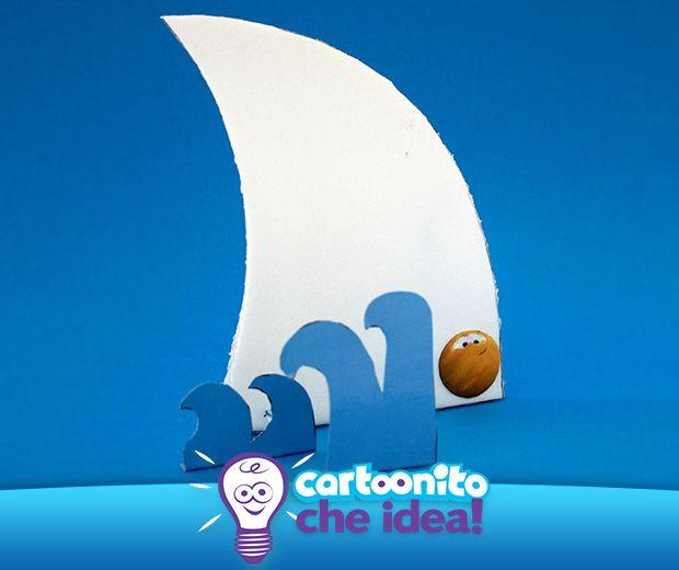 LA PINNA DELLO SQUALO  #CartoonitoCheIdea #Cartoonito #kids #bambini #giochi #attività #mare