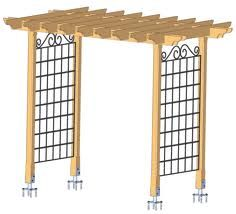 diy arbor trellis - Google Search