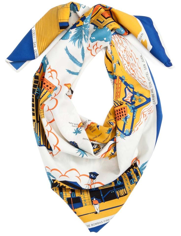 Two Mrs Grenvilles Puerto Rico Kerchief #Summer #travel #fashion #accessories #davidjones #emmafreedman #celebrities #holidays #shopping #scarf #kerchief