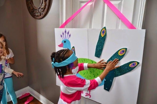 Peacock Birthday Party games