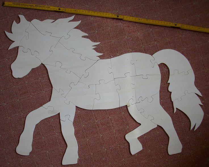 Pferd+Puzzle+von+Heikes+Kramladen+auf+DaWanda.com