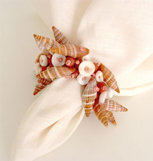 The best accesory for a perfect table - a lovely napkin ring.#Repin By:Pinterest++ for iPad#