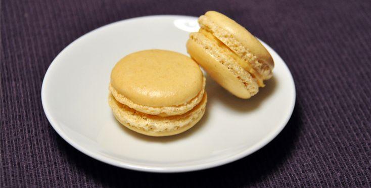 Salty Caramel Macarons