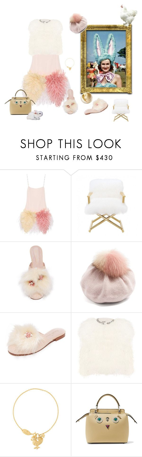 """Fluffy"" by juliabachmann ❤ liked on Polyvore featuring Miu Miu, Alameda Turquesa, Vivienne Westwood and Fendi"