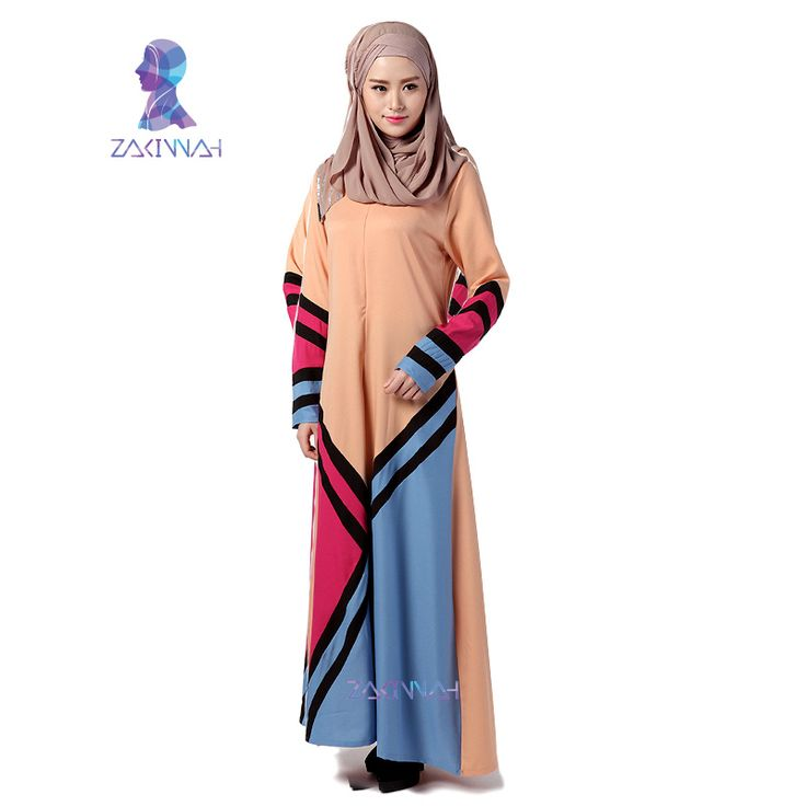 New arrival beautiful women abayas dubai fashion turkish islamic clothing long muslim dress #Islamic clothing