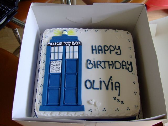 Cake With Name For Doctor : I want a Doctor Who themed birthday cake this year, here s ...